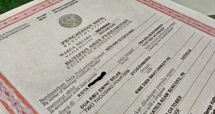 Syarat Membuat Akta Perkawinan di Denpasar